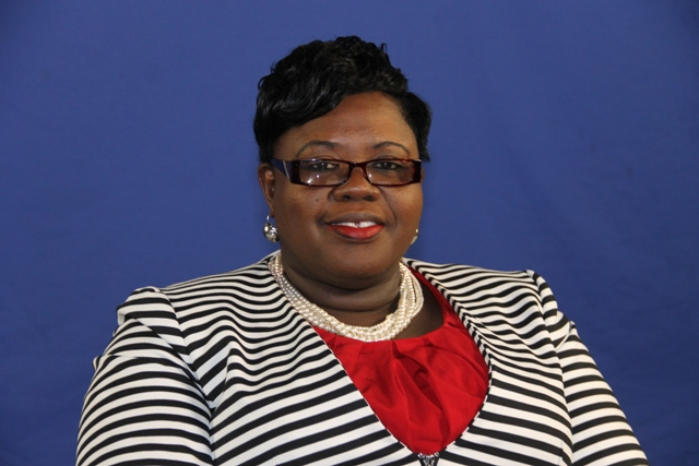 Hon. Hazel Brandy-Williams, Junior Minister responsible for Gender Affairs in the Nevis Island Administration